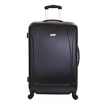 Karabar Evora 76 cm Hard Suitcase, Obsidian Black