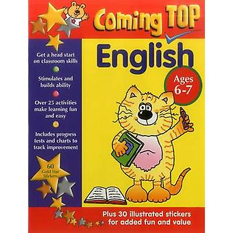 Coming Top - English - Ages 6 - 7 - 60 Gold Star Stickers - Plus 30 Ill