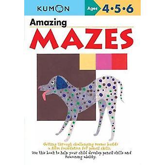 Amazing Mazes by Publishing Kumon - 9781941082164 Book