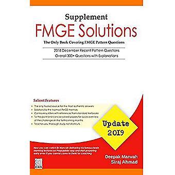 FMGE Solutions-Update-2019 (Supplement) by Deepak Marwah - 9789388108