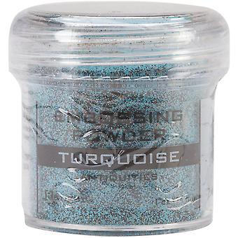 Ranger Embossing Powder-Turquoise