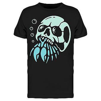 Crabe ermite avec Skull Shell Tee Men-apos;s -Image par Shutterstock
