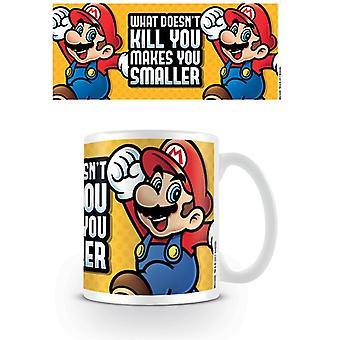 Super Mario ti rende tazza più piccola