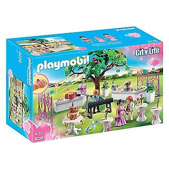 Playset City Life Wedding Banquet Playmobil 9228 (193 pcs)