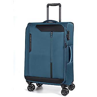 March15 Stardust Trolley M, 4 wielen, 68 cm, 70 L, blauw