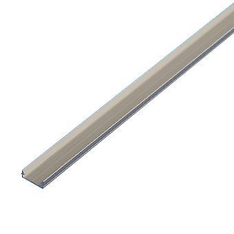 Jandei Profilo Alluminio Led Striscia 2 Metri Superficie 14 x 5 mm
