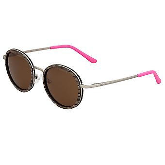 Earth Wood Himara Polarized Sunglasses - Swiss Walnut/Brown
