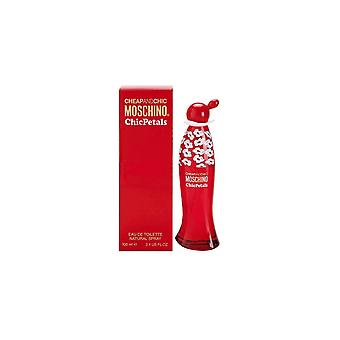 Moschino Cheap And Chic Petals Eau De Toilette For Her
