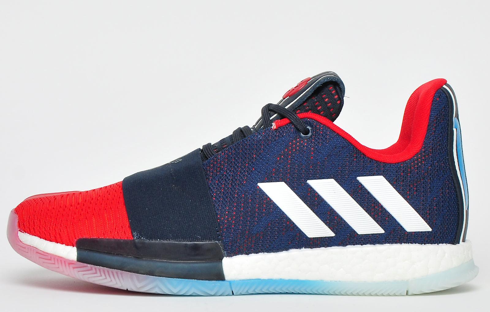 Adidas Harden Boost Vol 3 Retro Raketter Navy / Rød Hvit