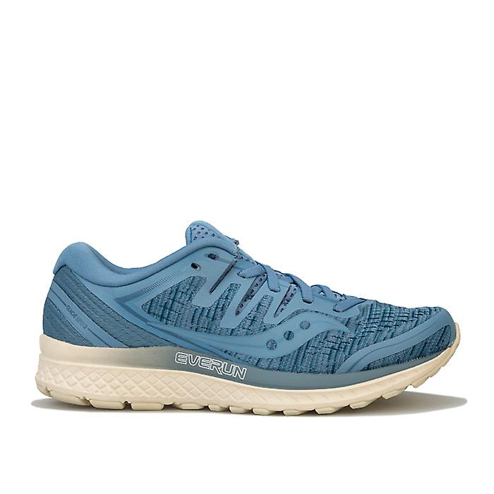 Women's Saucony Guide ISO 2 Running Shoes in Blue bwxcF