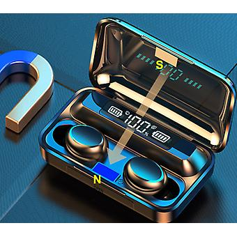 Tws Bluetooth 5.0 Earphones With Charging Box - Wireless Headphone  Waterproof Earbuds Headsets With Microphone
