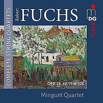 Fuchs / Minguet Quartet - Robert Fuchs: Complete String Quartets [CD] USA import
