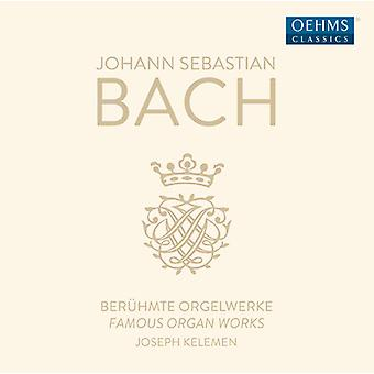 Bach*J.S. / Kelemen - Famous Organ Works [CD] USA import