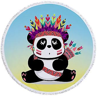 Chief Panda Beach Towel