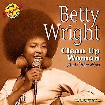 Betty Wright - Clean Up Woman & Other Hits [CD] USA import