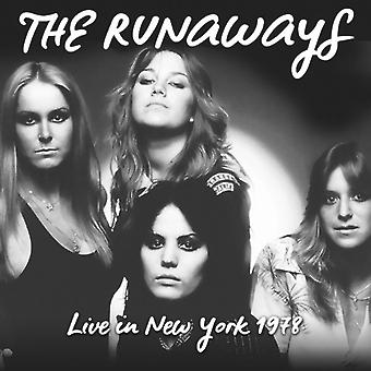 Runaways - Live in New York 1978 [CD] USA import