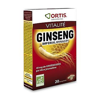 Organic Imperial Ginseng 20 Days 20 tablets