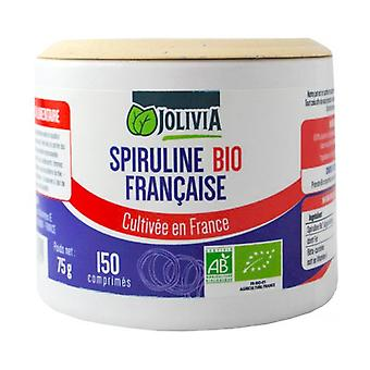 Organic AB French Spirulina 150 tablets of 500mg