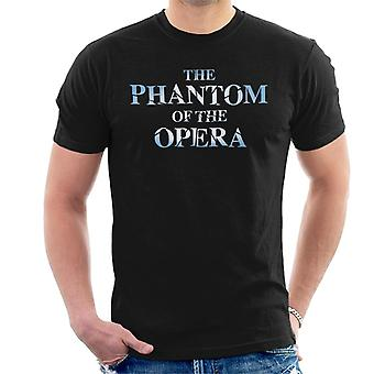 The Phantom Of The Opera Text Logo Men's T-Shirt
