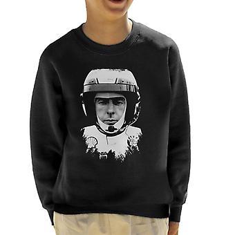 Immagini Motorsport Colin McRae Indossare Casco Kid's Sweatshirt
