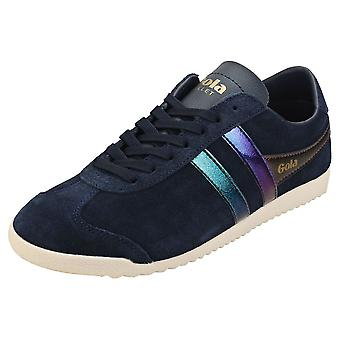 Gola Bullet Flash Womens Fashion Trainers in Navy Multicolour