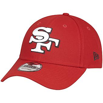 عصر جديد 9Forty NFL كاب - ELEMENTAL سان فرانسيسكو 49ers الأحمر