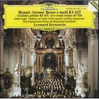 Messe de W.a. Mozart - Mozart - Grosse; Exsultate, Jubilate; Importer des USA de l'Ave Verum Corpus [CD]