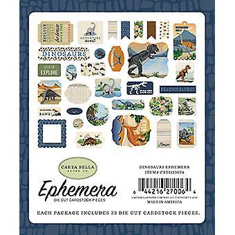 Carta Bella Dinosaurer Ephemera
