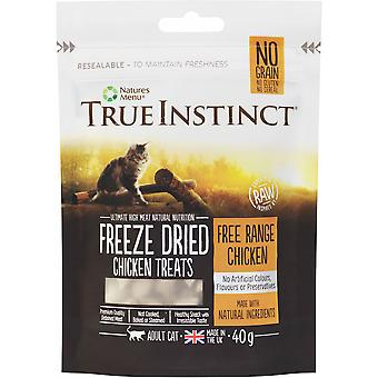 True Instinct Chicken Freeze Dried Treats For Cats - 40g