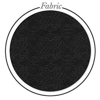 Womens Fashion Lace Shorts KSH46124X 1102 Black 1X