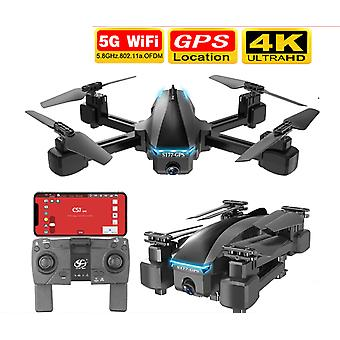 S177 Drone 4k Gps 5g Wifi Hd Wide Angle Dual Camera Quadcopter