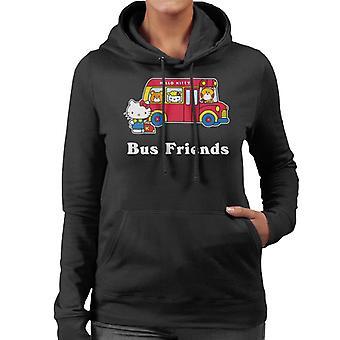 Hello Kitty Buss Venner Kvinner's Hettegenser