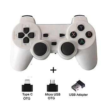 Wireless Gamepad For Android Phone/PC/PS3/TV Box Joystick - 2.4G Joypad Game Controller For Xiaomi Smart Phone