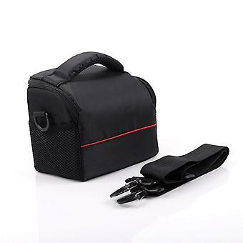 Étui noir d'épaule d'appareil-photo pour canon
