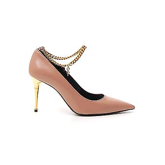 Tom Ford W2560tlkd002u3002 Dames's Nude Leather Sandals