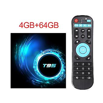 T95 Tv Box para Android 10.0 Youtube Hd 6k Quad Core Android Tv Smart Tv Box