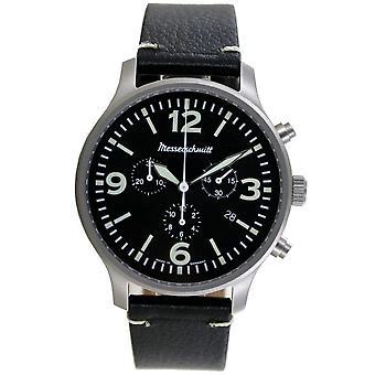 Aristo Men's Messerschmitt Watch Chronograph ME-3H205L Leather