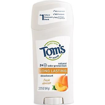Tom's of Maine Natural Long Lasting Deodorant Fresh Apricot