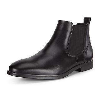 ECCO Ecco 621854 Melbourne Santiago Leather Chelsea Boot In Black