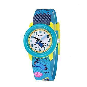 Led à prova d'água Toque Digital Infantil relógio - azul