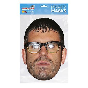 Mask-arade Angelos Epithemiou Celebrities Party Face Mask