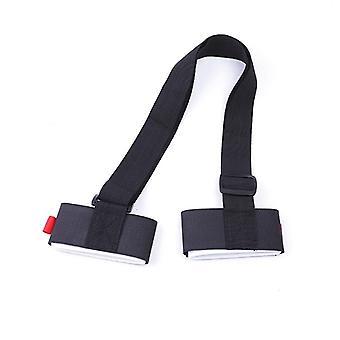 Saco de ombro de correias de skate ajustável, alça, fixação de snowboard