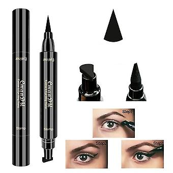 Double Headed Seal Eyeliner Stamp - Waterproof Pencil Eye Makeup