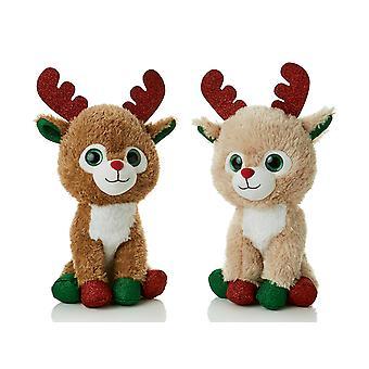 Premier Decorations Tan Reindeer Glitter Antlers PL205792