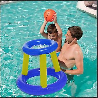 Giant Inflatable Floating Basketball Hoop & Blow Up Ball For Swimming Pool &