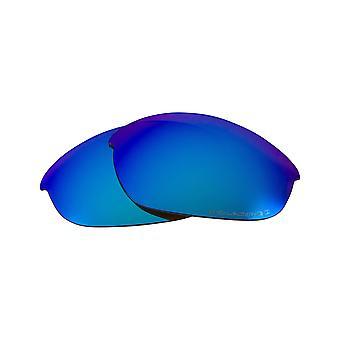 عدسات استبدال ل Oakley نصف سترة 2.0 النظارات الشمسية المضادة للخدش الأزرق
