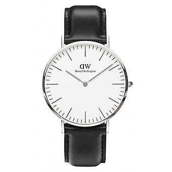 Daniel Wellington DW00100020 Sheffield Black Strap Wristwatch