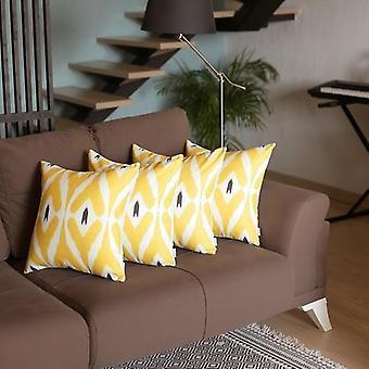 Ikat dekorativní hodit polštář kryt set