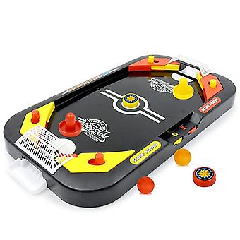 Mini Air Hockey Table, Desktop, Battle 2-in-1, Ice Hockey, Indoor Game Toy