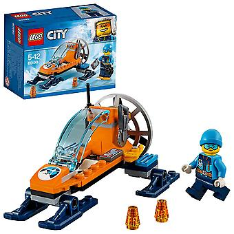 Lego 60190 city arctic expedition arctic ice glider vehicle toy, winter adventure toys for kids 5-12